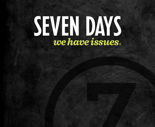 Logo for Vermont's Seven Days weekly